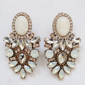 Amelle Clear Earrings