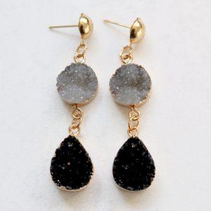 Aurora Grey Earrings