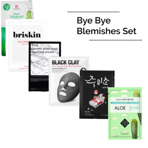 Bye Bye Blemishes Face Mask Set