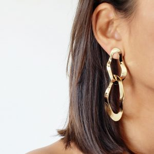 Eva Gold Earrings