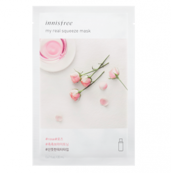 Innisfree Its Real Squeeze Mask Rose