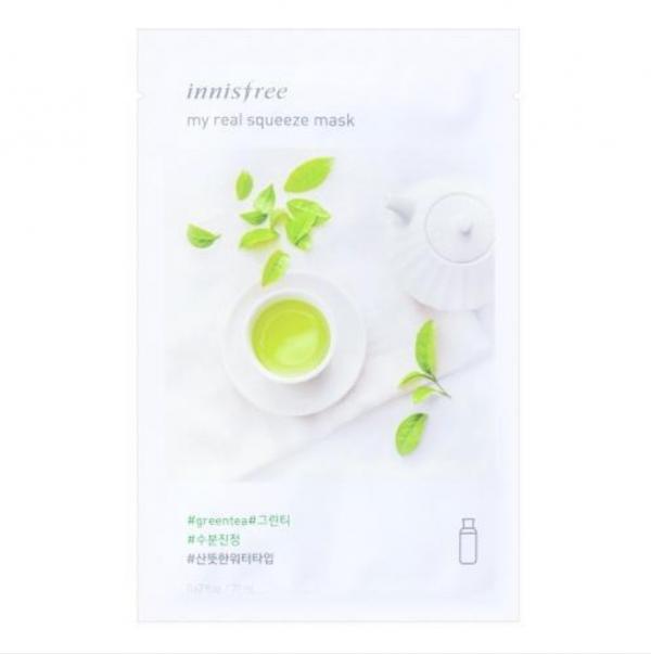 Innisfree My Real Squeeze Mask Green Tea