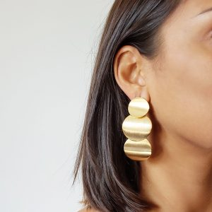 Jessica Gold Earrings