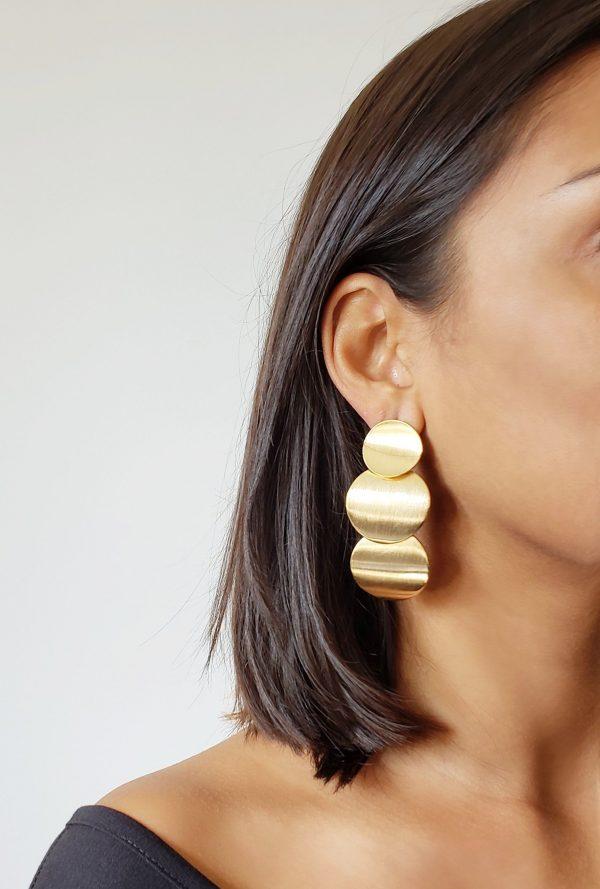Jessica Gold Earrings