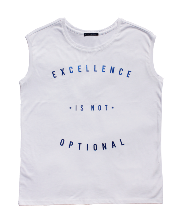 Lawrenson Excellence is Not Optional Blue