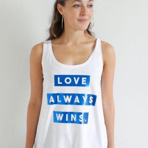 Lawrenson Love Always Wins Blue
