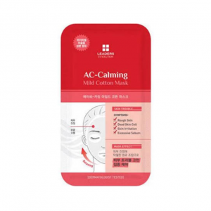 Leaders Ex Solution Mild Cotton Mask AC Calming