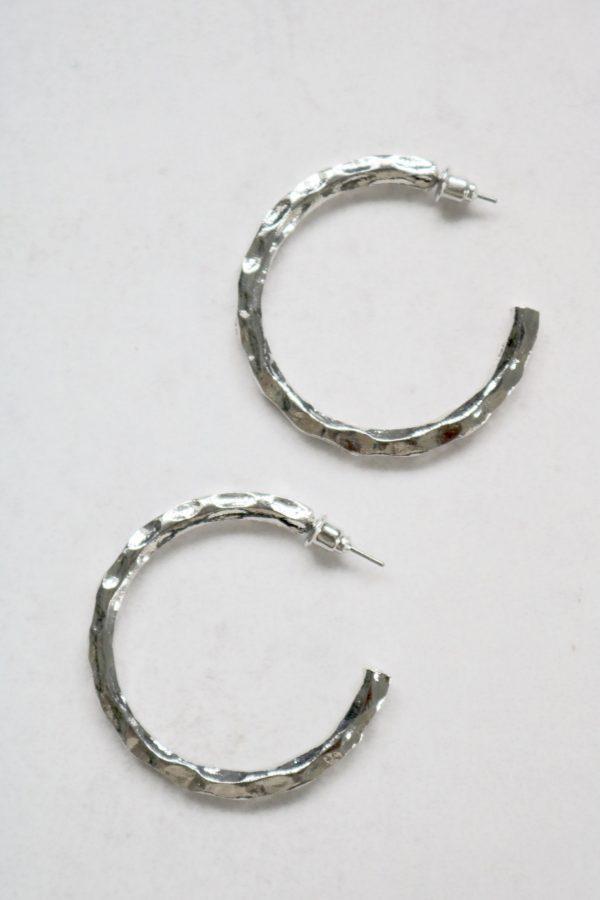 Steph earrings silver