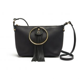 black RING BAG bluehour