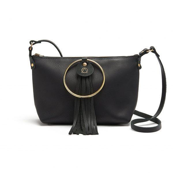 black RING BAG bluehour