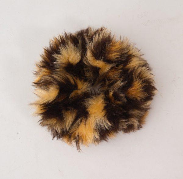 leopard scrunchie