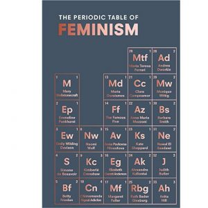 periodic table of feiminism book