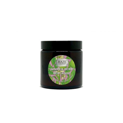 juniper berry bergamot scented candle