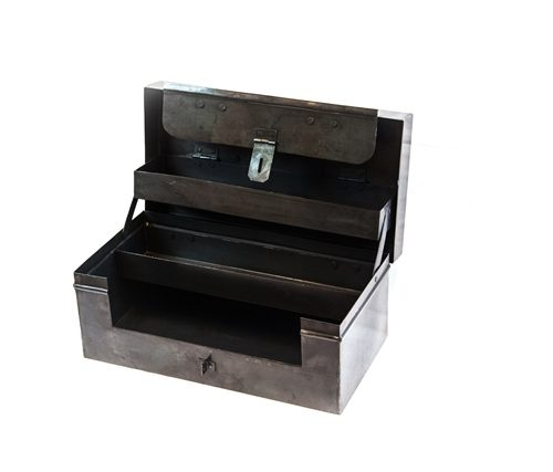 stationery toolbox steel