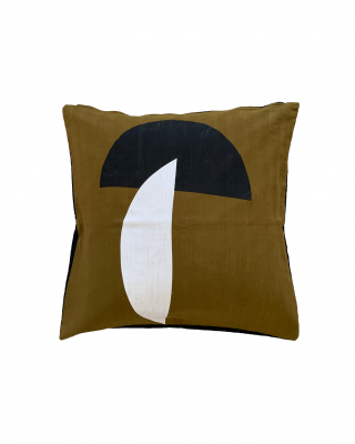 Minmal shape brown wholesale cushion