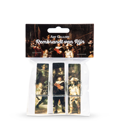Magnet pegs Rembrandt