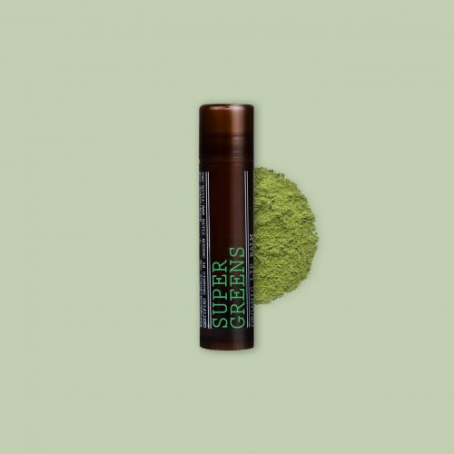 A healthy lip balm that provides nourishment, moisture and long-lasting protection. The base consists of softening sunflower seed oil, beeswax and coconut oil, enriched with green tea and wheatgrass.