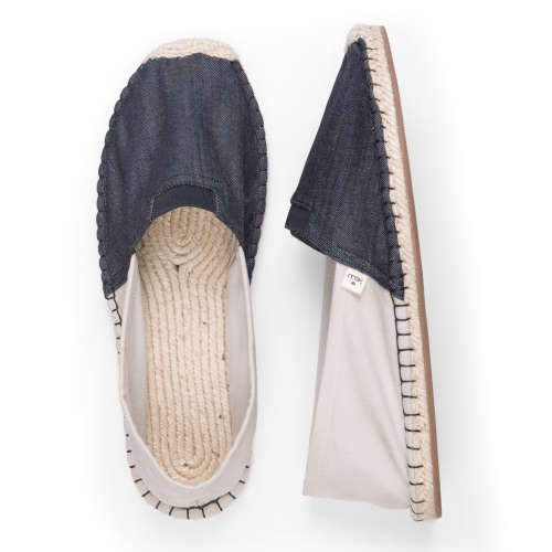 Eburnean Blue_top_espadrille shoes_Kingdom of Wow!