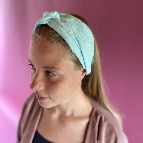 Powder blue headband