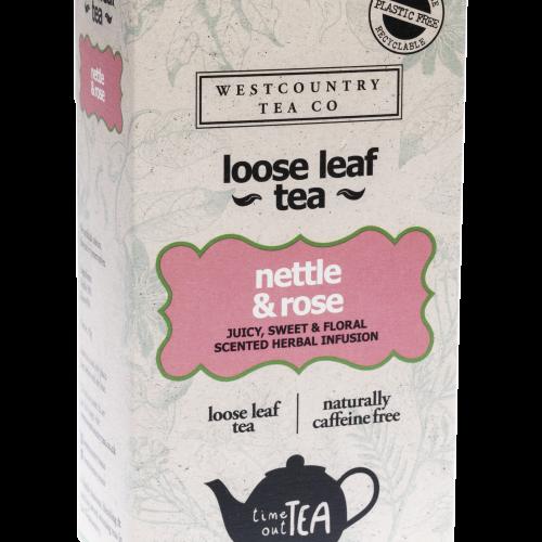 Westcountry Tea Co. Nettle & Rose Loose Leaf Tea