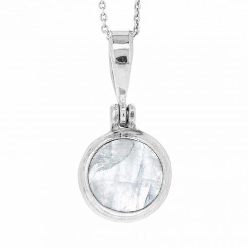 moonstone pendant on chain