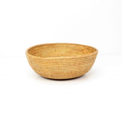 rattan bowl