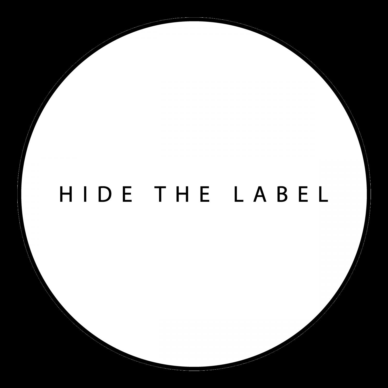 HIDE THE LABEL