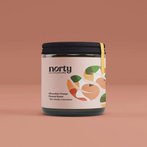 Norty Chocolate Orange Peanut butter