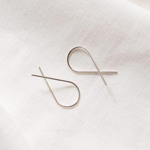 Eco silver twist threads