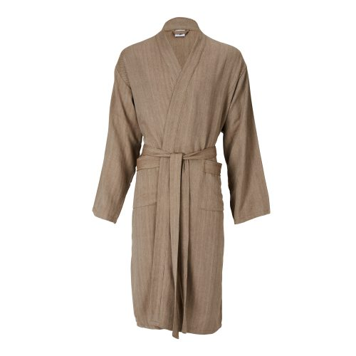 Mete Cotton Lounge gown in Taupe