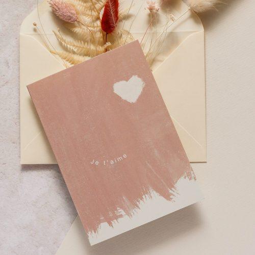 Je t'aime I am Roxanne Greeting Card